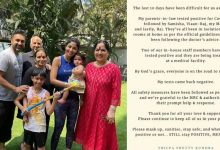 Shilpa Shetty's family tests Covid positive, says everyone is on road to recovery