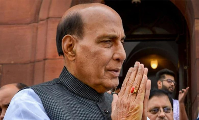 Defence Minister Rajnath Singh to release first batch of DRDO anti-Covid drug on Monday
