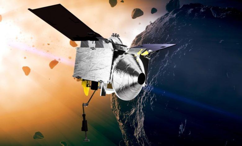 Nasa's Osiris-Rex begins 2-year trip home with samples from asteroid Bennu