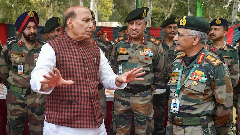 Defence Minister Rajnath Singh mulls Army deployment in Delhi to tackle Covid crisis