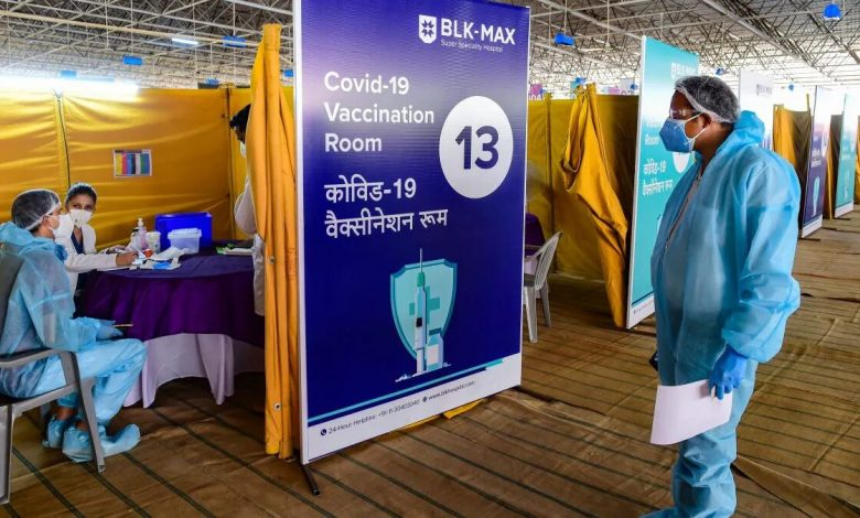 Covid-19 vaccination: Most districts have covered less than 10% of their population