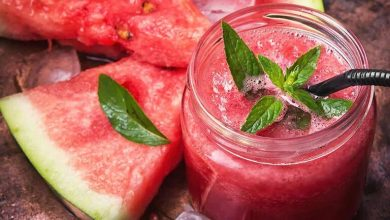 Build Your Immunity to Fight Covid: Watermelon cooler with Tulsi and Aloe Vera