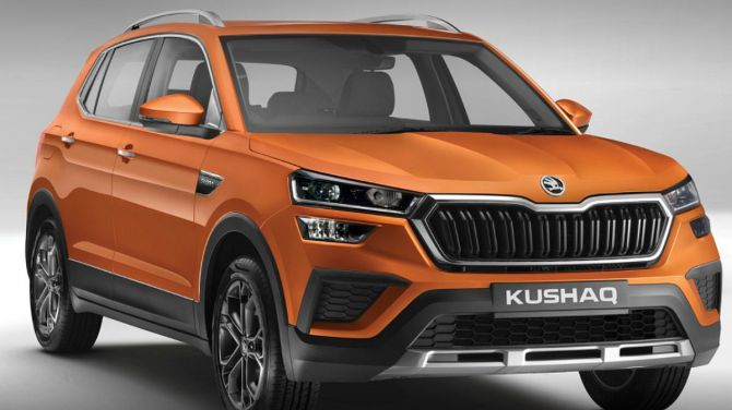 The new Skoda Kushaq SUV is based on the MQB-A0-IN, a variant of the modular MQB platform specially adapted by Skoda for India.