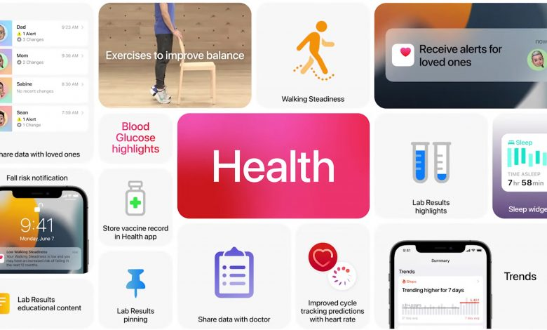 Apple announced that the Health App on the iPhone will give users the ability to share their data with their family members and doctors.