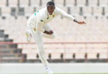 Lungi Ngidi gives South Africa edge in first Test v West Indies