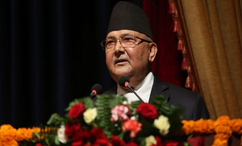 Nepal SC relieves PM Oli's 21 ministers from cabinet