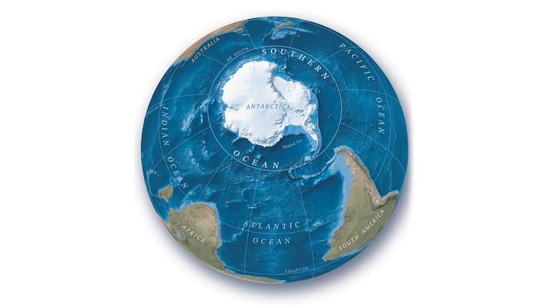 Update your atlas: Southern Ocean recognised as world's fifth ocean by Nat Geo cartographers