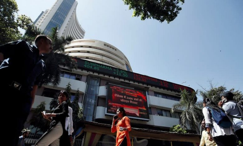 Domestic shares end lower on financials drag, profit taking