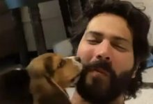 Varun Dhawan is enjoying fatherhood with his new pup. The actor asked fans to suggest a name for the new member of his family.