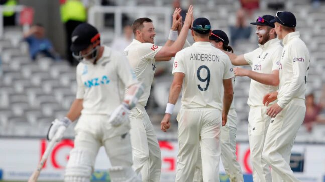 England vs New Zealand: 1st Test ends in a draw after England lose only 2 wickets in final 2 sessions