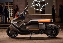 2022 BMW CE 04 electric scooter debuts with 128km range