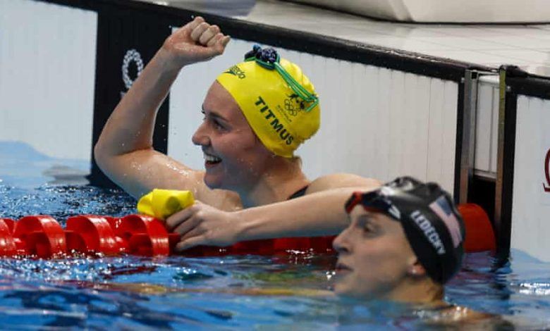 Tokyo Olympics: Australia's Ariarne Titmus upsets Katie Ledecky to win Olympic 400m freestyle gold