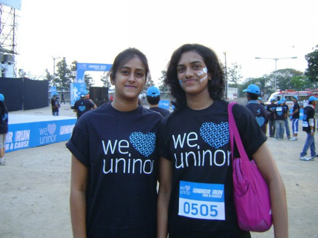 PV Sindhu With Her Sister