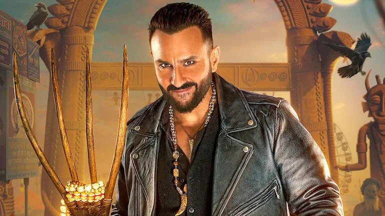 Bhoot Police to premiere on Disney+Hotstar. Saif Ali Khan's first-look poster out