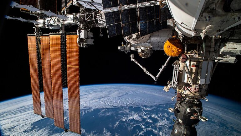 International Space Station thrown out of control by misfire of Russian module, says Nasa