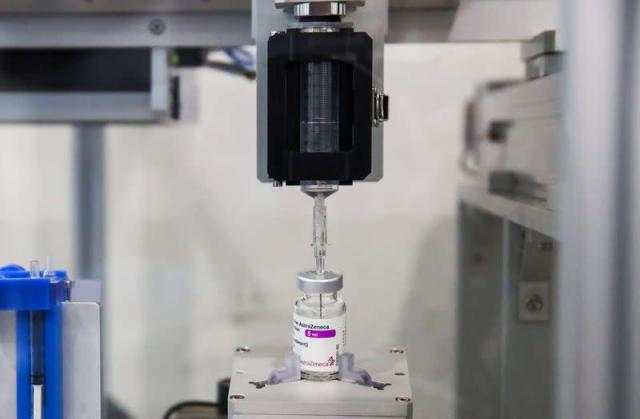 Thailand develops robotic system to squeeze out more vaccine doses