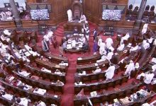 6 TMC MPs suspended from Rajya Sabha for a day for displaying placards, 'disobeying' Chair