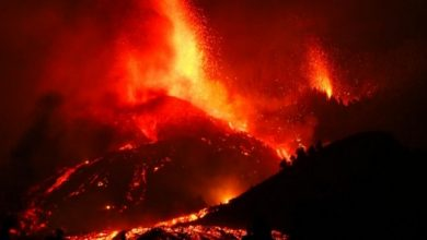 Volcanic eruption on Spanish Island emitting over 6,000 tons of sulfur dioxide per day into air