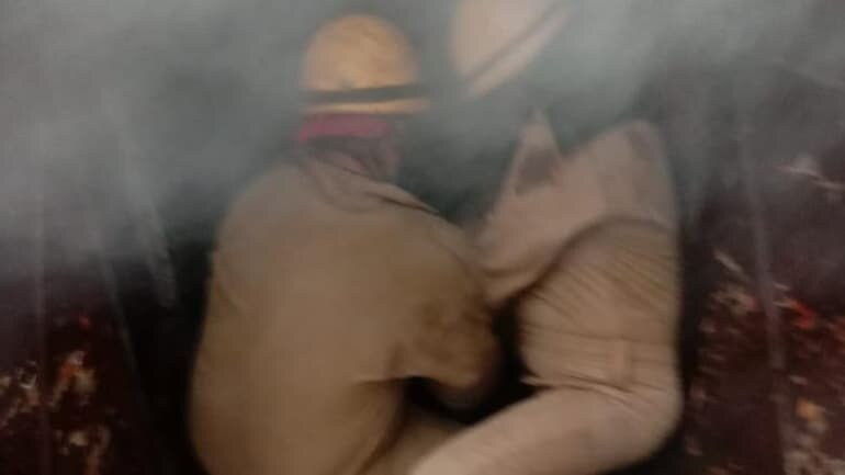 A fire broke out at a factory in Delhi's Inderlok area on Tuesday.
