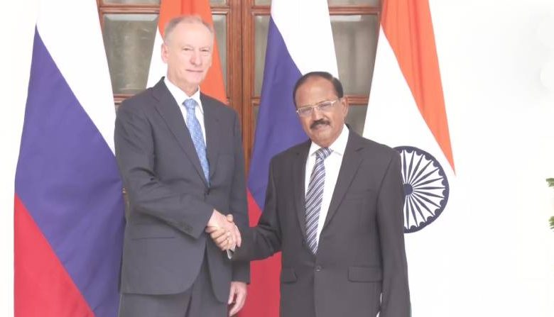 Indian NSA Ajit Doval meets Russian counterpart over Afghanistan