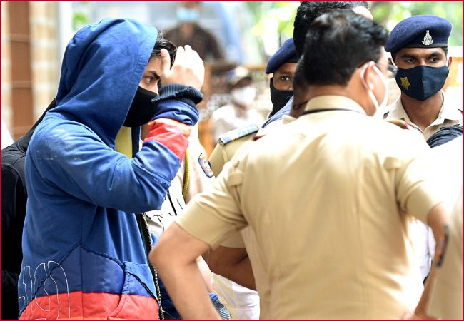 The NCB said Aryan Khan, who was arrested following a raid on October 2, consumed drugs on the cruise ship.