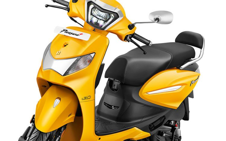 Hero Pleasure+ Xtec 110cc scooter launched in India at Rs 61,900