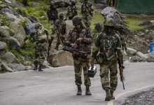 Five Indian Army soldiers were killed in an encounter that broke out in the Poonch sector of Jammu and Kashmir on Wednesday.